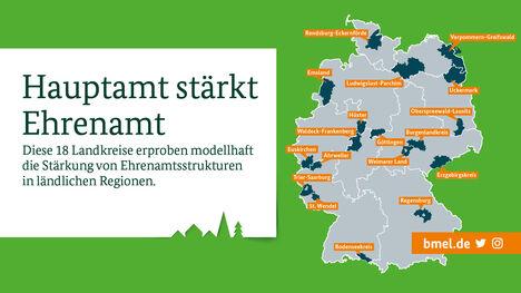 Sharepic 18 Landkreise Hauptamt stärkt Ehrenamt